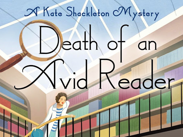 BLOG TOUR - Death of an Avid Reader by Frances Brody