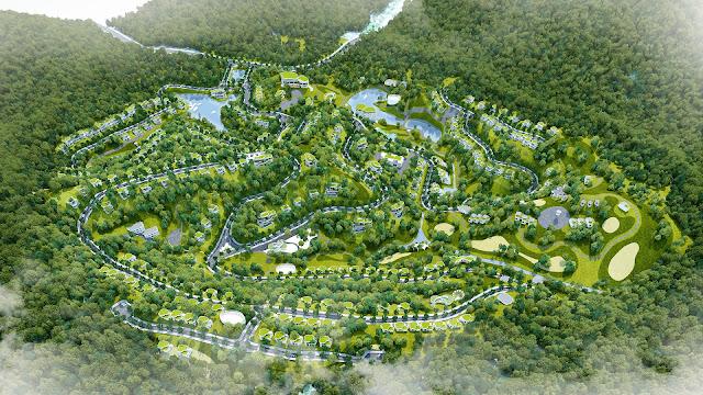 Phối cảnh dự án Lâm Sơn Hòa Bình