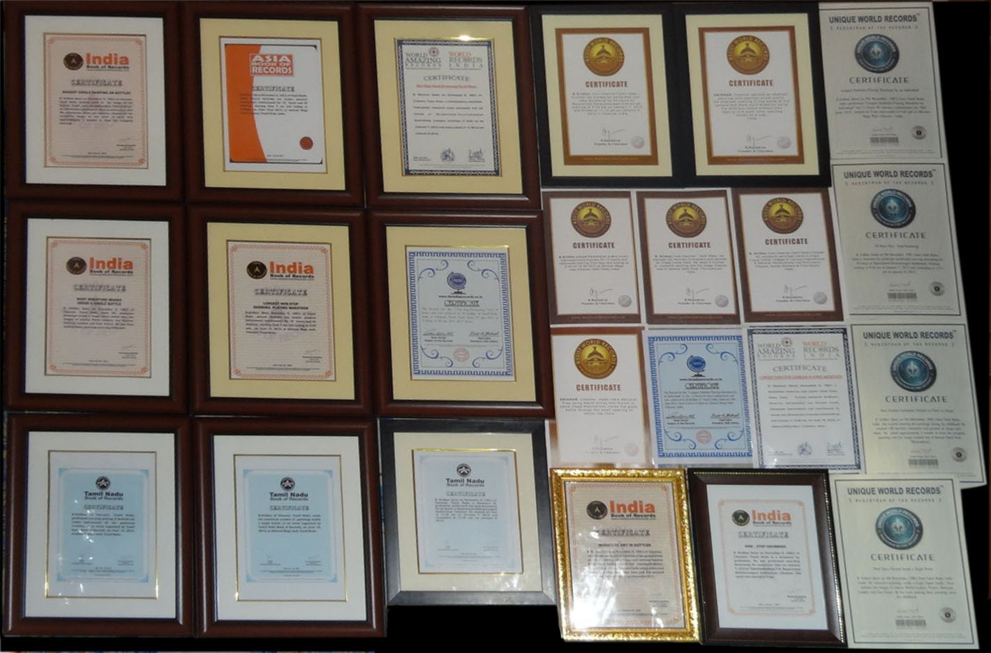 Some of the Achievements of Drummer Sridhar