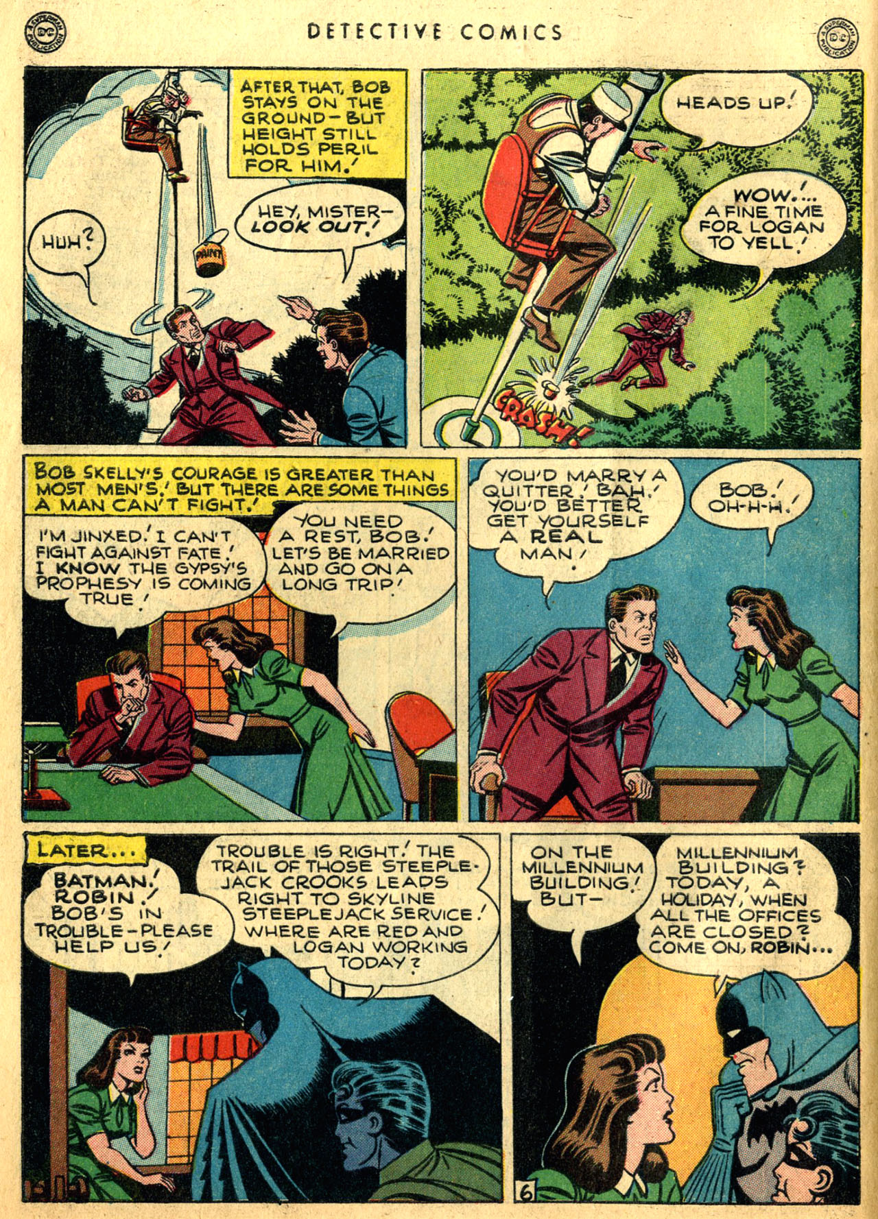 Read online Detective Comics (1937) comic -  Issue #117 - 8