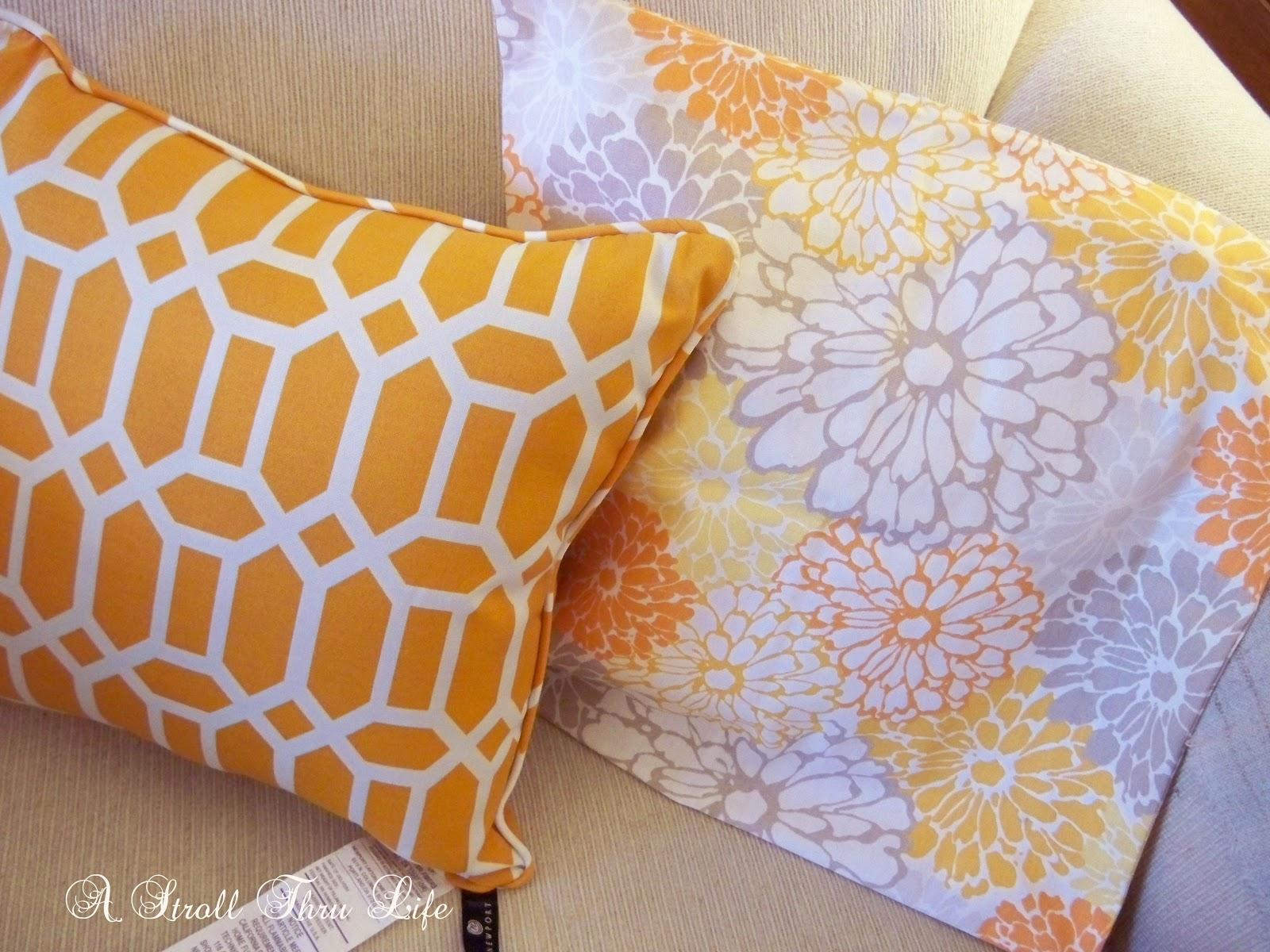 Orange and white color scheme
