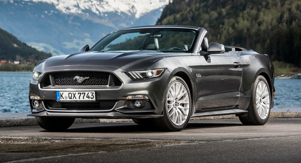 Ford Mustang Is Now Europe's Best Selling Sports Car