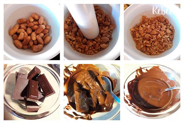 Receta de galletas de chocolate y cacahuete: el acompañamiento