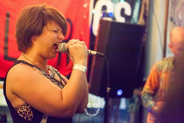 Kiss Me, Killer performing at The Exchange, Bristol, hosted by LaDIYfest Bristol 14/7/2017