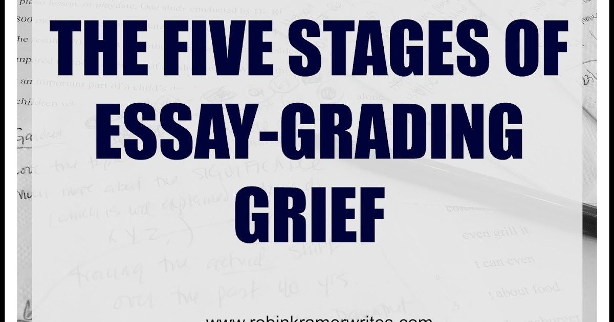 essay on grief