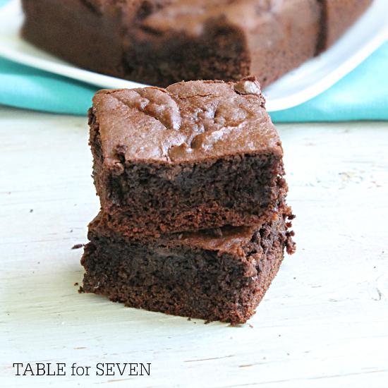 Cake Mix Brownies