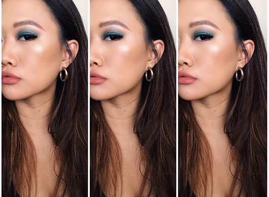 Green Smokey Eyes for Asian Double Eyelids