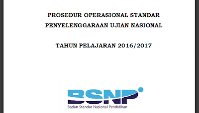 Download POS UN 2016/ 2017 - BSNP Ujian Nasional 2017