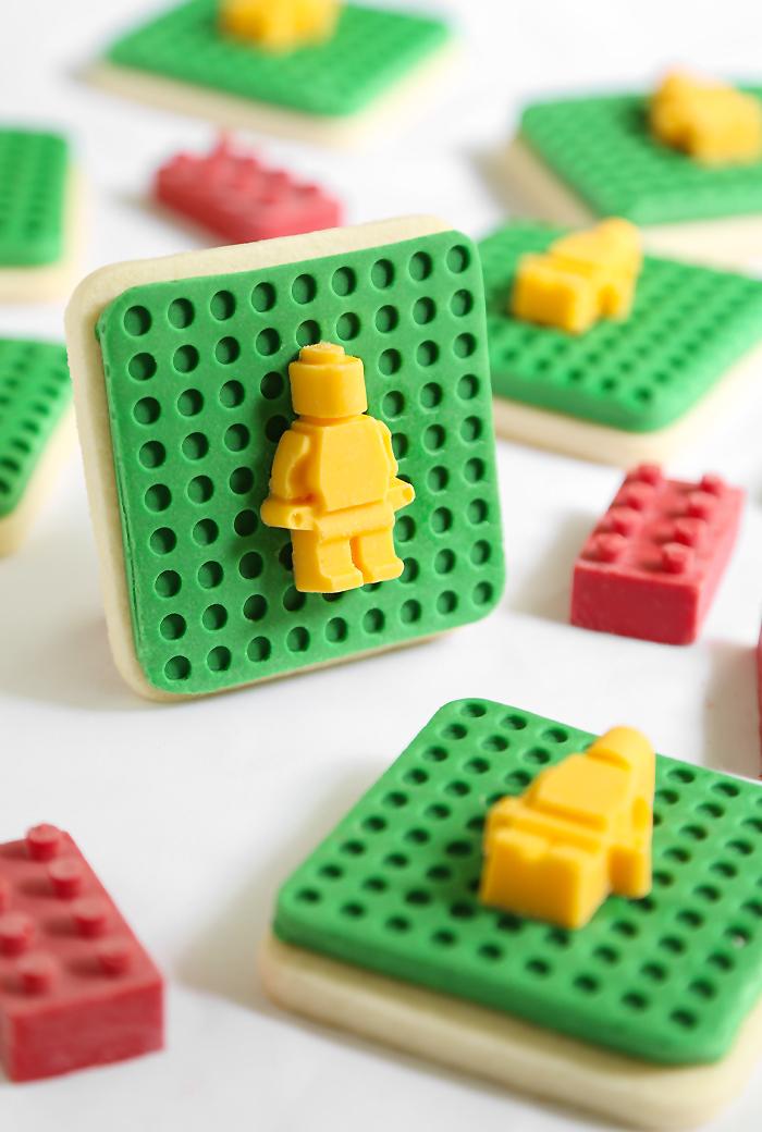 Lego Cookies Sprinkle Bakes