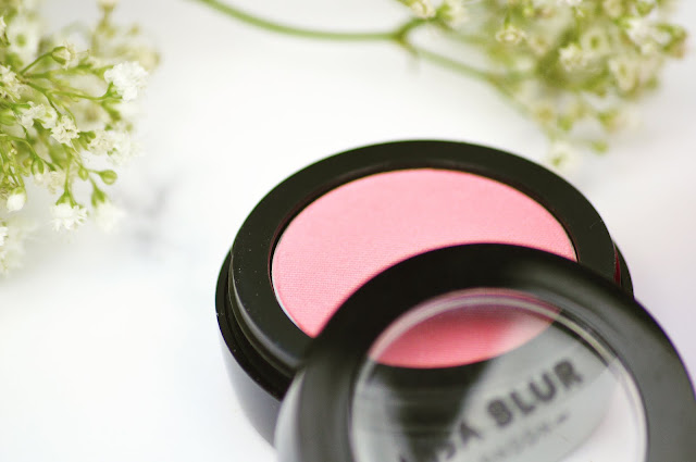 Lisa Blur London Makeup Review - Blusher, Primer and Eyeshadow