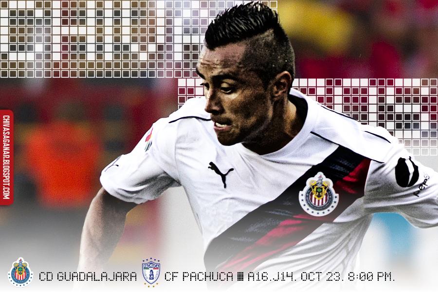 Liga MX : CD Guadalajara vs CF Pachuca - Apertura 2016 - Jornada 14.