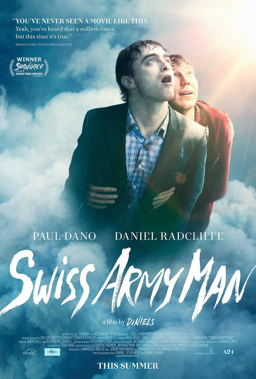 Swiss Army Man ganha novo trailer ainda mais bizarro com Daniel Radcliffe