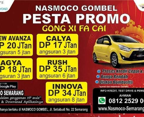 Promo Awal Tahun 2018 Rupiah di Nasmoco Toyota Gombel Semarang  Demak, Pati, Kudus, Purwodadi, Salatiga, Kendal, Jepara, Ungaran