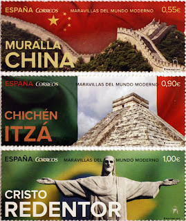 MURALLA CHINA, CHICHÉN IZTÁ Y CRISTO REDENTOR