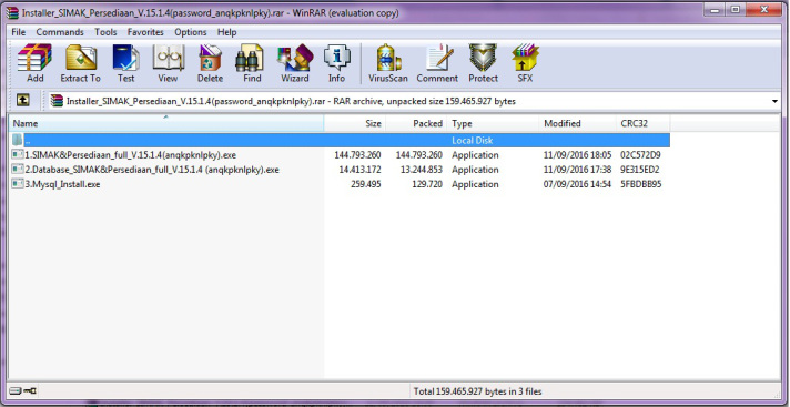 cara mudah install simak 18.2