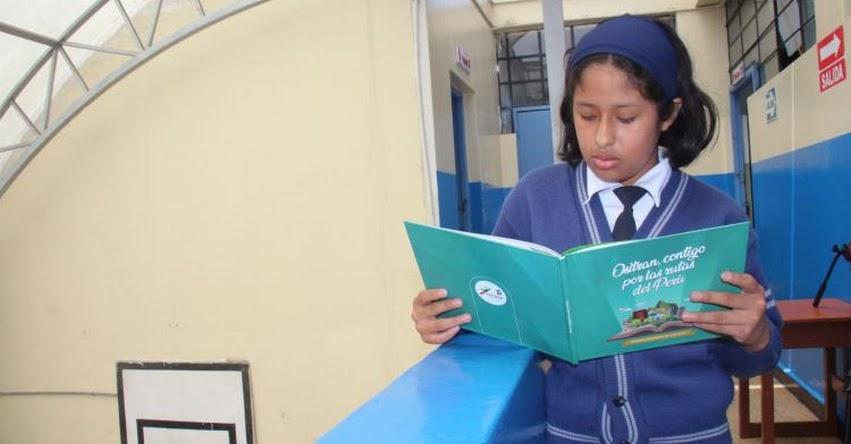 OSITRAN fomenta la escritura y lectura en los escolares - www.ositran.gob.pe