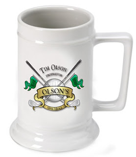Custom Golf Beer Stein