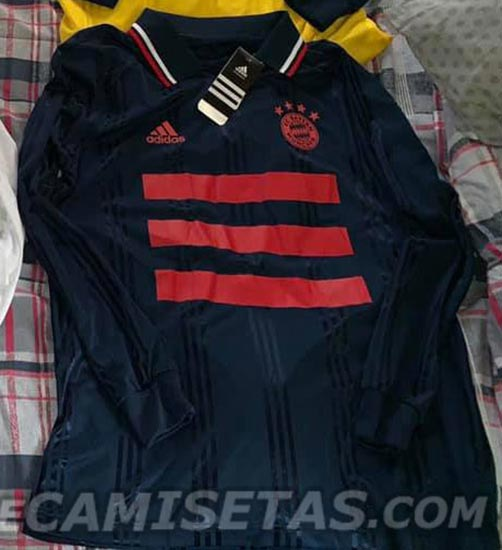 52d87bce7 Official Pictures: Adidas Bayern München 19-20 Icon Long Sleeve Retro Jersey  Leaked