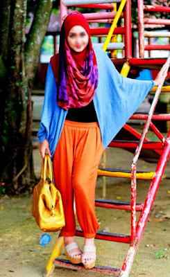 baju muslim colorful