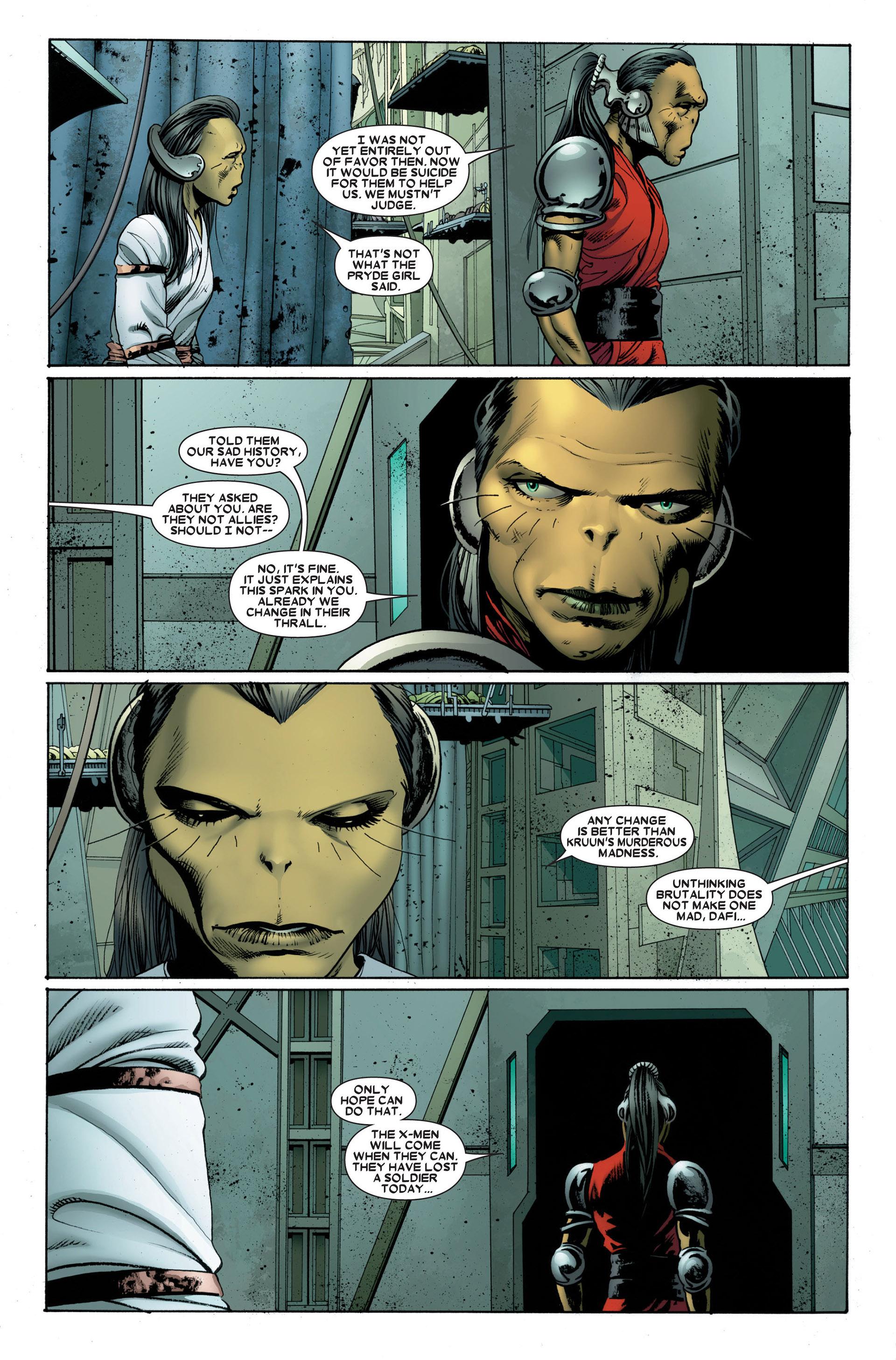 Read online Astonishing X-Men (2004) comic -  Issue #23 - 3