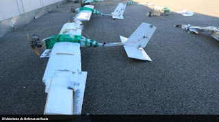 Drones used to attack Hmeimim Airbase