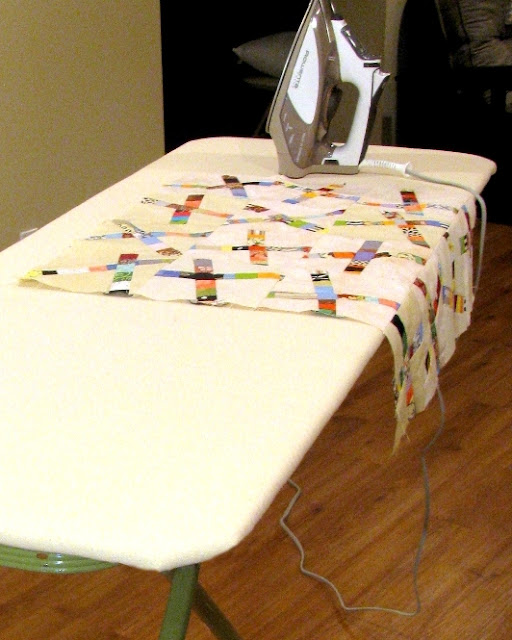 DIY quilters ironing board tutorial - finished