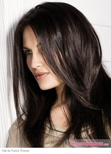 Dark Chocolate Brown Hair Color | Fashion and Cosmetics