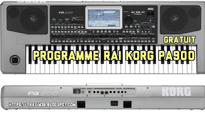 telecharger programme rai korg pa900 original gratuit