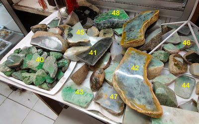 raw jade for sale in Yangon