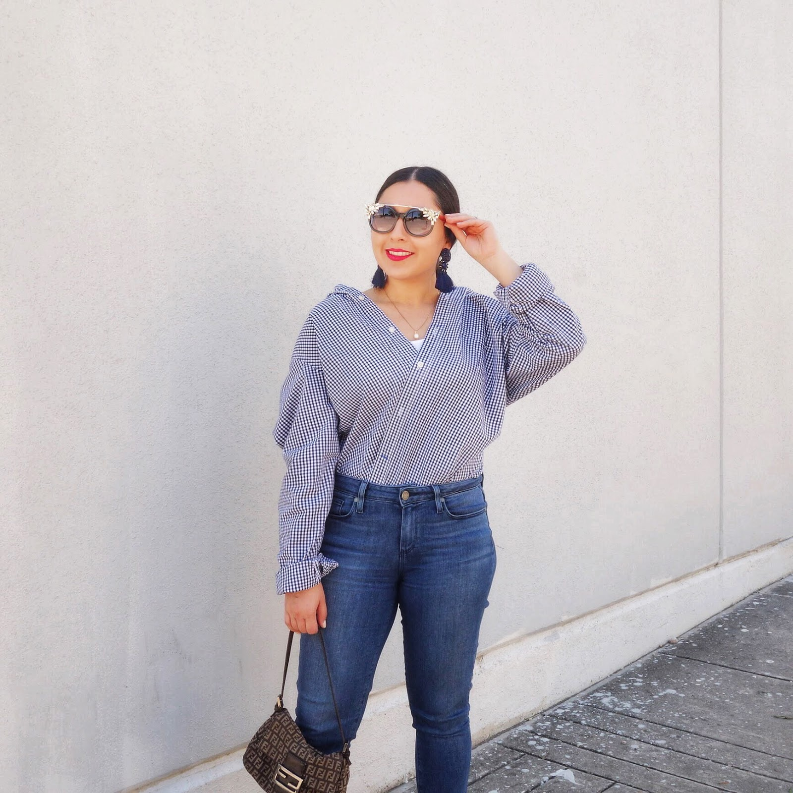 Boyfriend Shirt, How to wear Boyfriend Shirt, Wrap and Tuck