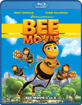 Bee Movie (2007) Dual Audio Hindi 480p BluRay x264 300MB ESubs Movie Download