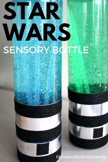 star wars sensory bottles