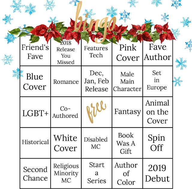 Winter Book Bingo 2019