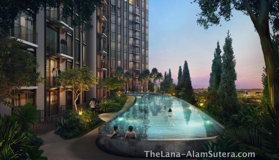 Infinity Pool @ The Lana Alam Sutera