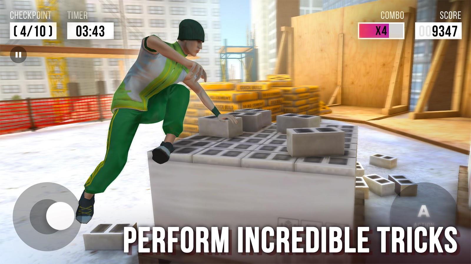 Parkour Simulator 3D MOD APK