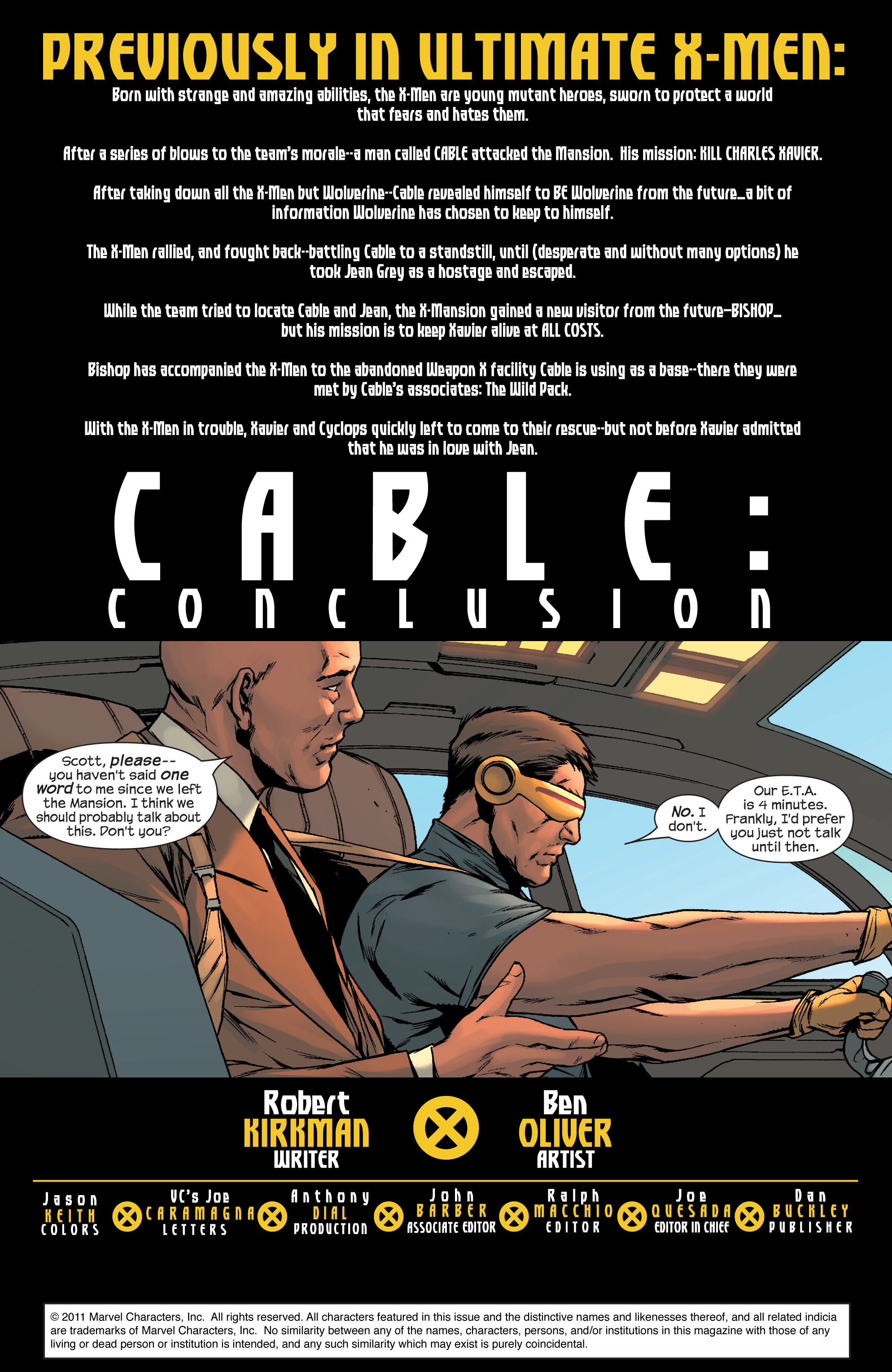 Read online Ultimate X-Men comic -  Issue #78 - 2