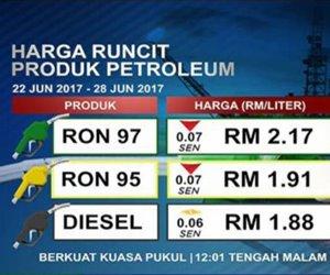 Harga Mingguan Petrol Turun Tujuh Sen, Diesel Tidak Berubah - KPDNKK