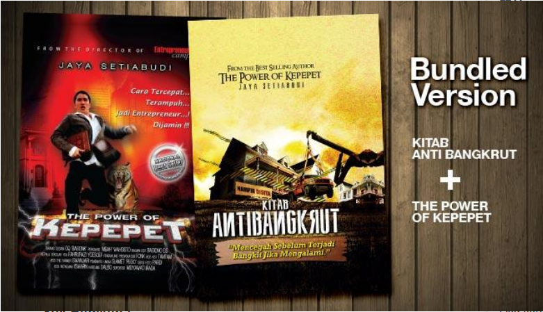 eBook The Power of Kepepet dan Kitab AntiBangkrut