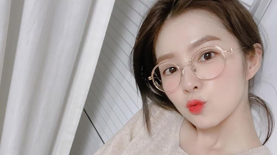 Irene, Red Velvet, Girl, Glasses, 4K, #6.821