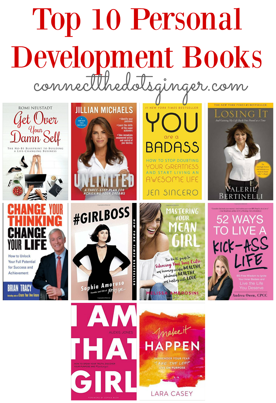 Connect the dots ginger becky allen top 10 personal development 1 get over your damn self the no bs blueprint to building a life changing business romi neustadt malvernweather Choice Image
