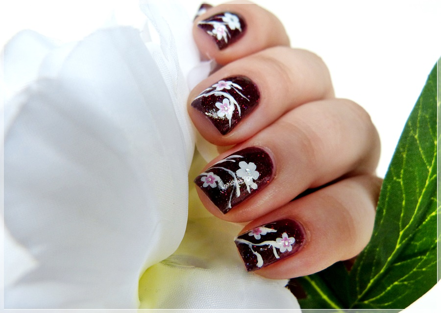 essence Nagelsticker Blumen Nailart