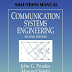 Communication Systems Engineering by John G. Proakis and Masoud Salehi Solutions Manual PDF
