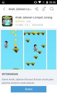 Download Game Anak Jalanan Lompat Jurang [GRATIS] Lucu