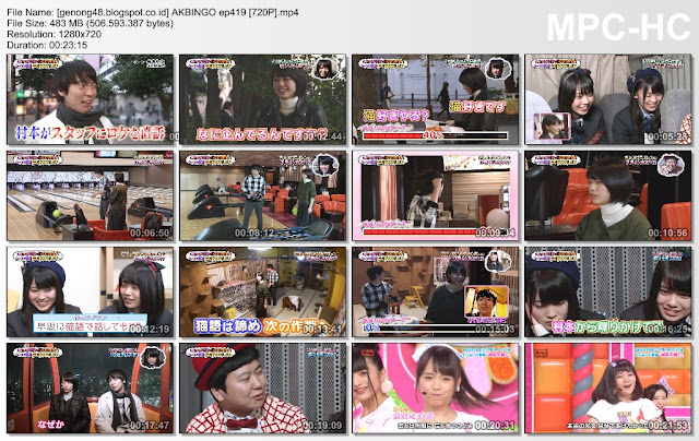 Download AKBingo! Episode 419 Subtitle Indonesia