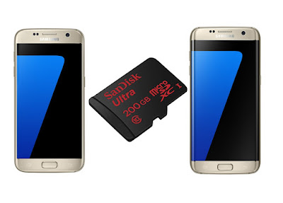Best Micro SD card for Samsung Galaxy S7 & S7 Edge: SanDisk Ultra 200GB Micro SD