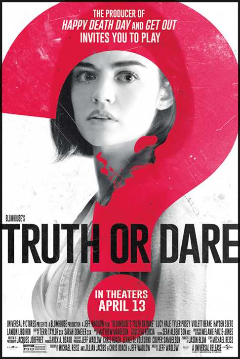 Poster Truth or Dare 2018 Download Full Movie English Free 300Mb