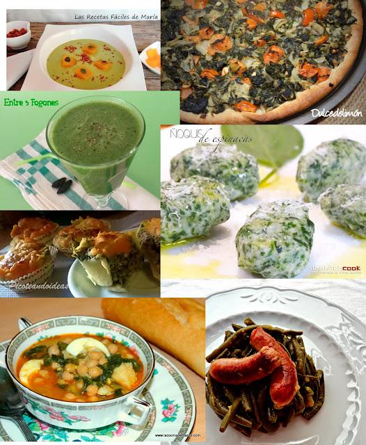 UNIVERSO VERDE: Recetas variadas de verduras