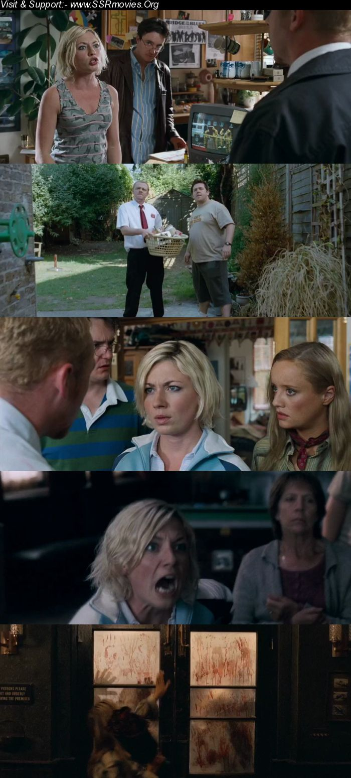 Shaun of the Dead (2004) Dual Audio Hindi 720p BluRay