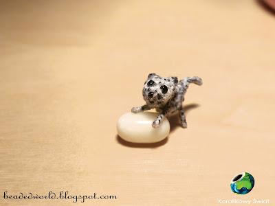 jaguar na szydełku