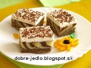 Mramorový koláč - recept
